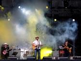 Edvīns Bauers ar grupu country mūzikas festivālā Bauskā 2012. gadā